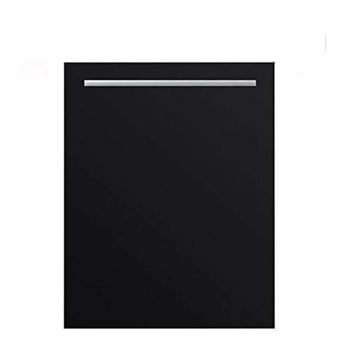 ZXCVB Lavavajillas, Compact L Diseño, Clase energética A +, panel táctil de lujo, acero inoxidable, Eco Mode, Negro [energética A +]