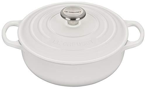Le Creuset Enameled Cast Iron Signature Sauteuse Oven, 3.5...