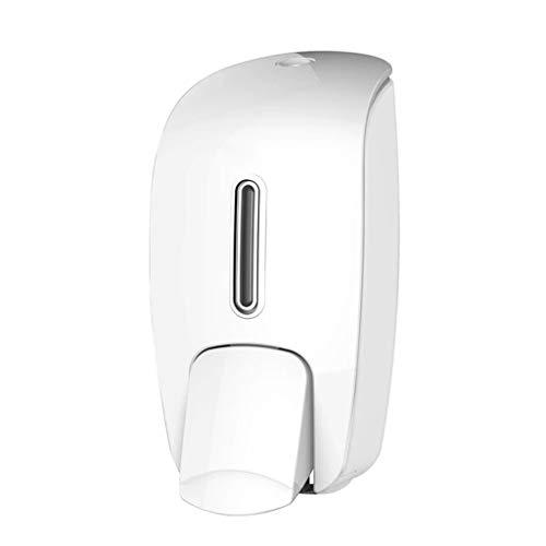 Lotion Spender Handseifenspender Wand befestigte Handbrause Dispenser Pumpflasche Soap Pump Shampoo Dispenser Halter Seifenspender Seifenspender (Color : White)