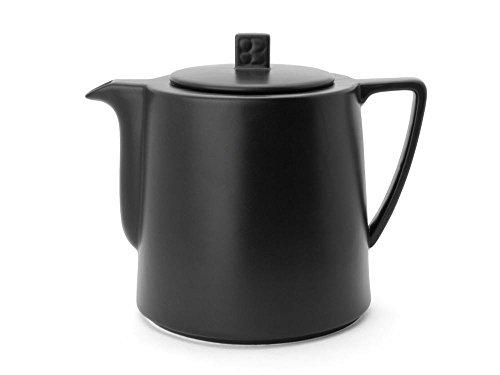 Bredemeijer Teekanne Lund 1,5L, schwarz, Keramik, 144x205x174mm
