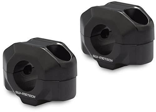 SW-MoTech Lenkererhöhung PP für 22mm Lenker um 20mm schwarz, Unisex, Multipurpose, Ganzjährig, Aluminium
