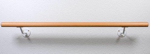 Kit de barre de danse avec deux supports muraux solides, Longueur: 2,0m