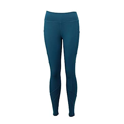 FitKicks Crossovers Active Lifestyle Womens Athletic Leggings Teal