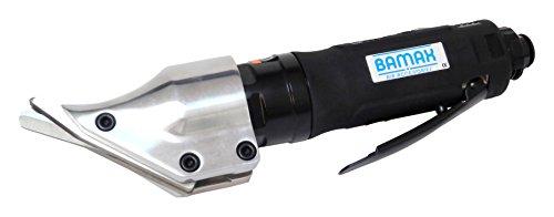 Bamax AT0046 Cesoie Pneumatiche per Lamiera, Professionale, ad Alte Prestazioni per Il Taglio di Acciaio e Alluminio, Nero