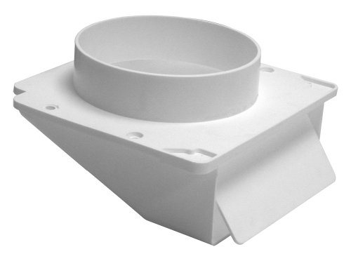 """Lambro Industries 143WP Lambro""""dustries""""dustries Plastic Under Eave Vent, 4In, White"""