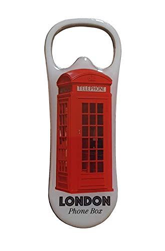 Scatola telefonica di Londra apribottiglie magnete – Foto dell'iconica cabina telefonica rossa/utile souvenir britannico dall'Inghilterra UK/per cucina/casa/bar/ristorante/hotel/pub/eventi