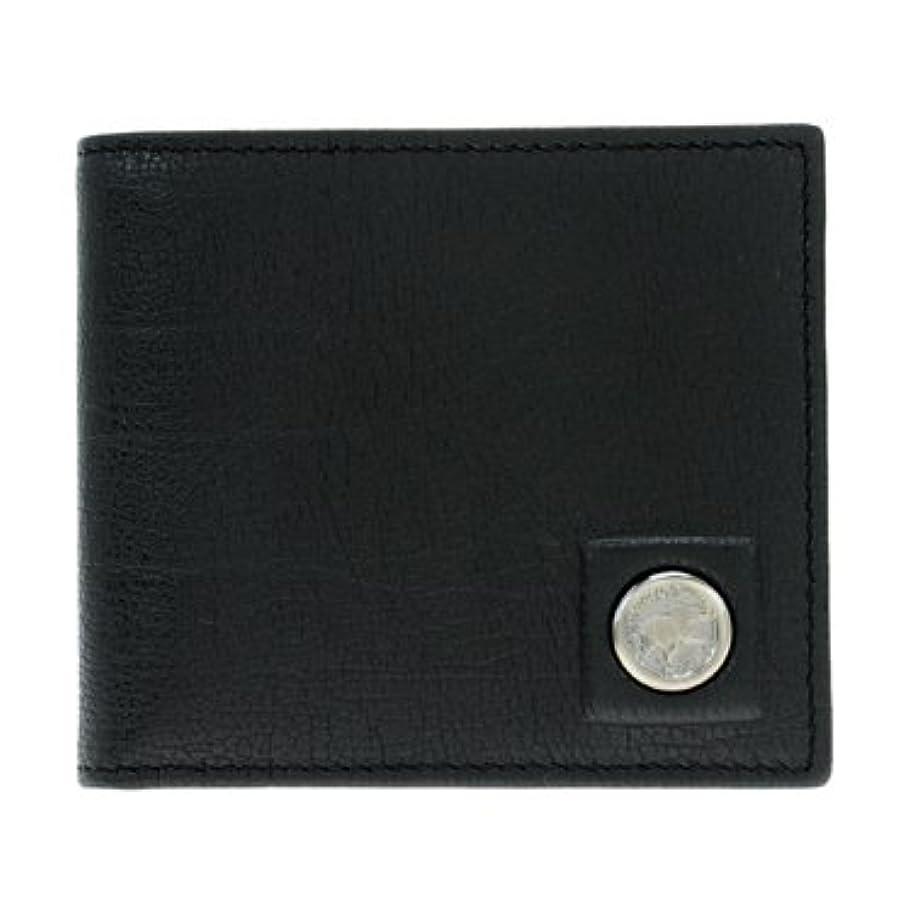 忠実な預言者単独で[ハンティングワールド] 二つ折り財布(小銭入れ付) メンズ 575-1-233-BLK [並行輸入品]