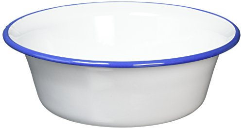 IBILI 905124 Bol, Acier, Blanc, 24 x 24 x 8 cm