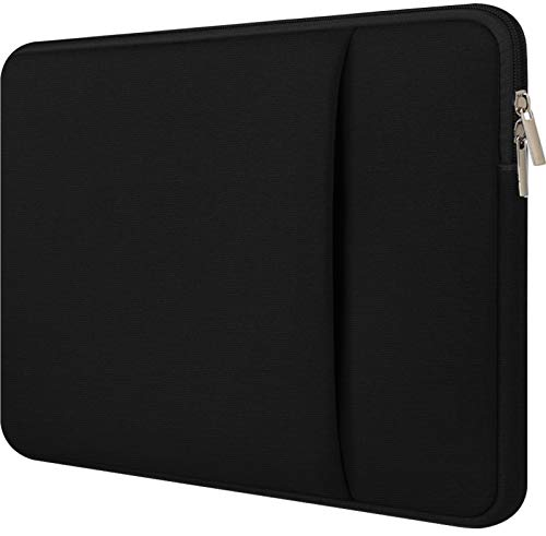 Laptop Sleeve 15.6 inch,Upgraded Durable Shockproof Protective Cover Flip Case Briefcase Carrying Bag Case,15.6 Inch Laptop Sleeve Case Computer Bag Sleeve with Pocket for Laptop Notebook,Black