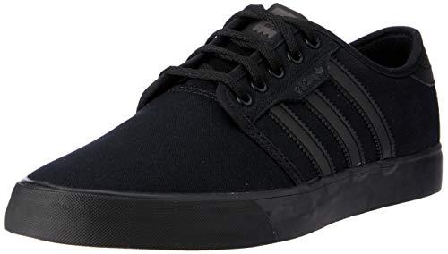 Adidas Seeley, Zapatillas de Skateboard Hombre, Negro (Core Black/Core Black/Core Black 0), 44 EU ✅