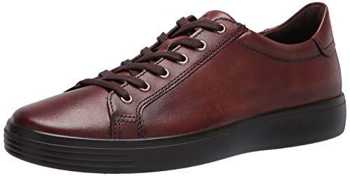 ECCO Men's Soft Classic Sneaker, COGNAC, 9 M US