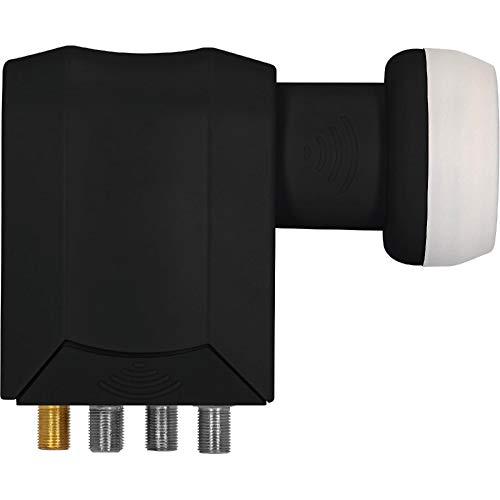 TechniSat Universal-SCR 4+4 LNB HDTV (DiSEqC EN 50494, Ultra-HD-Kompatibel, DVR, Kompatibel mit Twin-/Quattroreceiver)