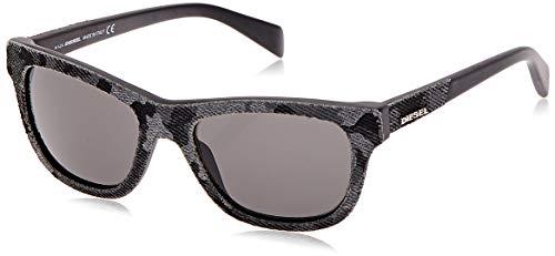 Diesel Sonnenbrille DL0111 5220A Occhiali da Sole, Multicolore (Mehrfarbig), 52 Unisex-Adulto