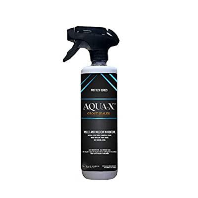 16 oz AQUA-X Grout Sealer, Clear Grout Sealer, Commercial Grade, Mold and Mildew Inhibitor