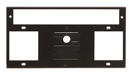 KRAMER T10F-33 - TBUS-10XL Inner Frame voor 3 stopcontacten of 1 stopcontact + kamerbesturing met 2 blindplaten en 1 kabeldoorvoer