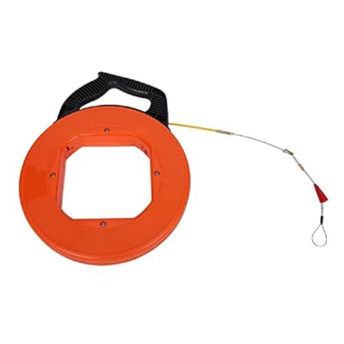 BANAN 82/98 pies de cinta de pescado de acero tirador de alambre con doble punta de lazo optimizado manija de vivienda hogar roscado naranja extractor de alambre de acero