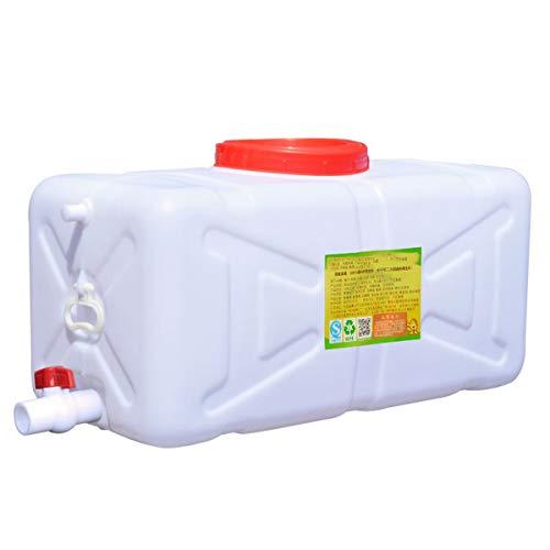 RSH Bidón Plástico con Grifo Cuadrado Almacenamiento De Agua Tanque De Agua del Coche Engrosado Gran Capacidad Depósito De Agua para Acampar Picnic Recorrido Sin Conductor Pesca Múltiples Capacidades