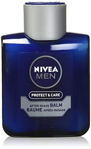 Nivea For Men Replenishing Post Shave Balm - Original - With Aloe Vera - Absorbs Instantly With No Greasy Residue - Net Wt. 3.3 OZ (100 mL) Each - Pac