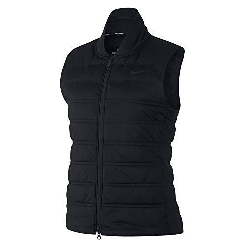 Nike Women's Aeroloft Therma Golf Vest Black 930236-010 (M)