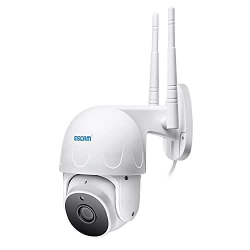 Cámara De Seguridad De Video para Exteriores, Cámaras De Vigilancia, Cámara IP WiFi 1080P con Audio Bidireccional, Tarjeta TF De 32 GB, Visión Nocturna, Detección De Movimiento, Alerta De Actividad