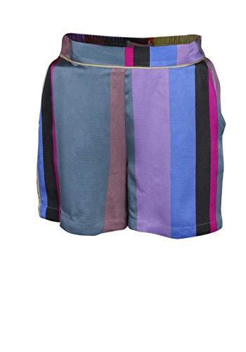 Mos Mosh Shorts Rita CLAVO elastiek achter strepen multicolor groen