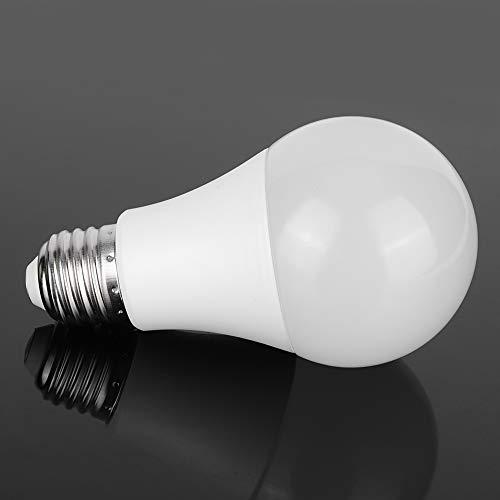 Redxiao Bombilla LED Inteligente, Control Remoto con atenuación RGB Bombilla LED, para Salas de reuniones Sala de Juegos Dormitorio Bares Hoteles(E27)