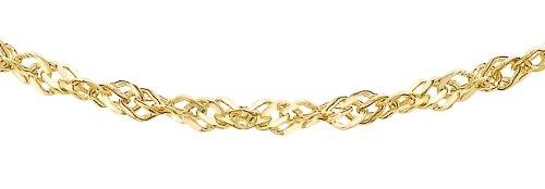 Carissima Gold Damen-Kette 375 9 Karat (375) Gelbgold 0.2 cm