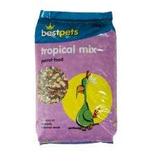 15kg Bestpets Tropical Parrot Mix