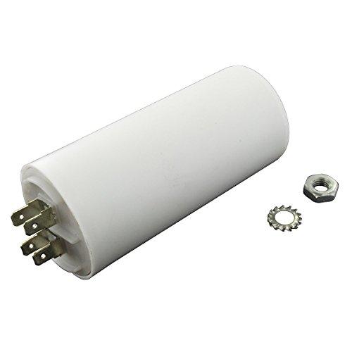 Aerzetix Condensatore permanente di lavoro per motore 60/µF 450V con capicorda 6.3mm