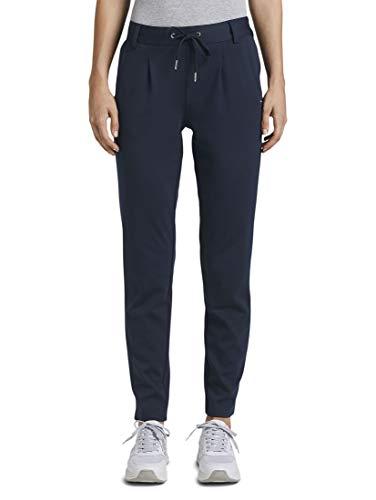 Tom Tailor Denim Knitted Trackpants Pantalón de Vestir, 10360, S/32 para Mujer