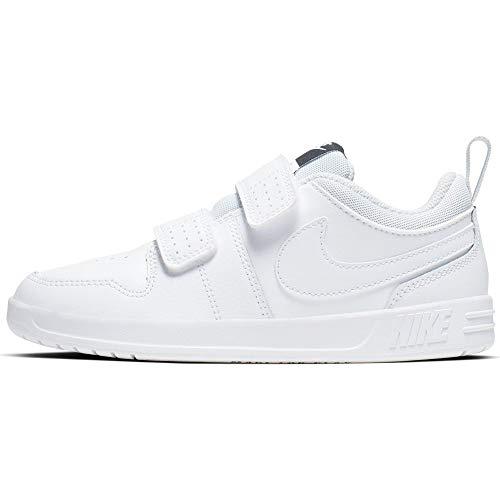 Nike Pico 5 (PSV), Zapatillas de Tenis Unisex Niños, Blanco (White/White/Pure Platinum 100), 35 EU