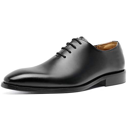 [フォクスセンス] ビジネスシューズ 本革 革靴 高級紳士靴 メンズ ドレスシューズ プレーントゥ ブラック 25.0cm P262-01