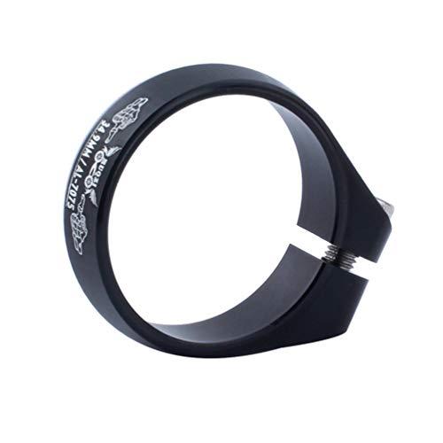 BESPORTBLE 34 Abrazadera para Tubo de Asiento de Aleación de Aluminio de 9MM para Volante Fijo Bicicleta de Montaña Bicicleta de Carretera ()