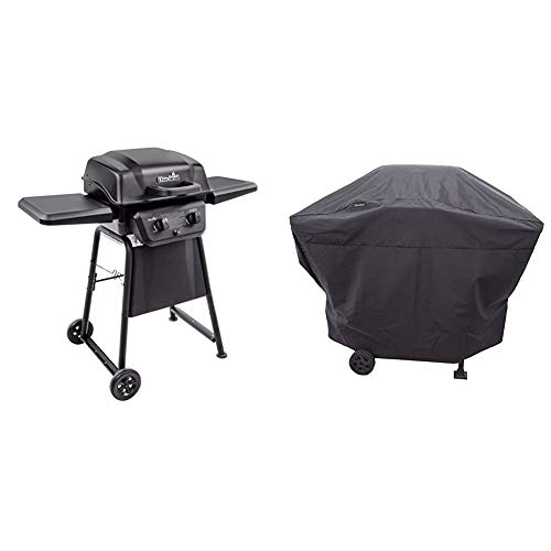 Char-Broil Classic 280 2-Burner Liquid Propane Gas Grill & Char Broil Performance Grill Cover, 2 Burner: Medium CML garden Grills lawn Placeholder Propane