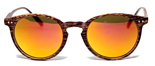 FIKO MOSCOT WOOD - Gafas de sol DEPP ICONIC Johnny Depp, unisex, estilo vintage, unisex