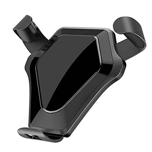 HLVU Soporte para Teléfono para Automóvil con Rotación De 360 ° Cargador Inalámbrico De Coche Soporte De Cargador
