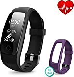 Runme Fitness Tracker with Heart Rate Monitor, Activity Tracker Smart Watch with Sleep Monitor, IP67 Water Resistant Walking Pedometer with Call/SMS Remind for iOS/Android