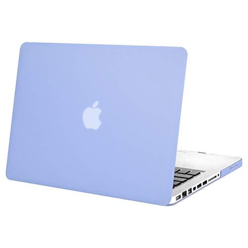 MOSISO Funda Dura Compatible con MacBook Pro 13 Pulgadas con CD-ROM A1278 (Versión 2012/2011/2010/2009/2008), Ultra Delgado Carcasa Rígida Protector de Plástico Cubierta, Serenidad Azul