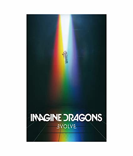 Imagine Dragons Evolve Music Album Poster 15 x 23 Inches Poster 38 x 58 cm (380 x 580 mm) Regalo decorativo