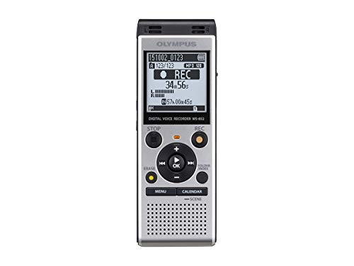 Olympus WS-852 High-Quality Digital Voice Recorder with Stereo Microphones,...