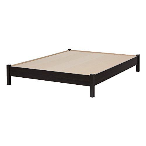 Hot Sale South Shore Gravity Collection Queen Platform Bed, Ebony