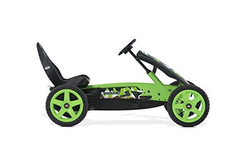 Berg Gokart Rally Force | Kinderfahrzeug, Tretauto mit Verstellbarer Sitz, Mit Feilauf, Kinderspielzeug geeignet für Kinder im Alter von 4-12 Jahren