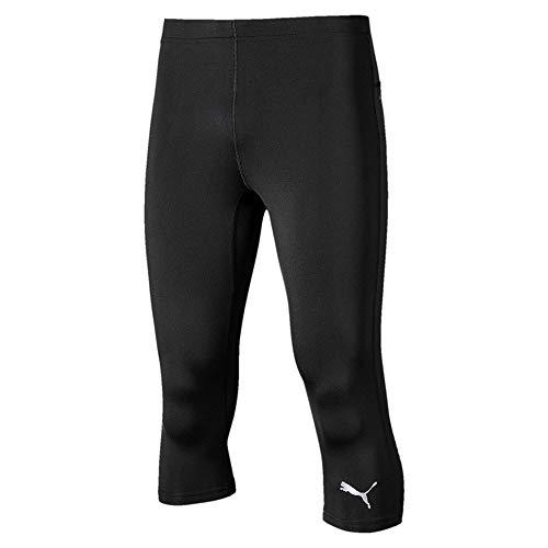 PUMA Running 3/4 Tight – Pantaloni a 3/4, da Uomo, Uomo, 52108501, Nero, M