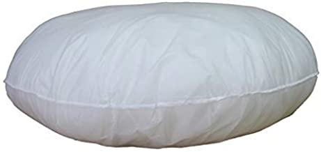 IZO All Supply Indoor Pillows - 32 inch Diameter Round Decorative Floor Pillow Insert Throw Pillows Sham Stuffer