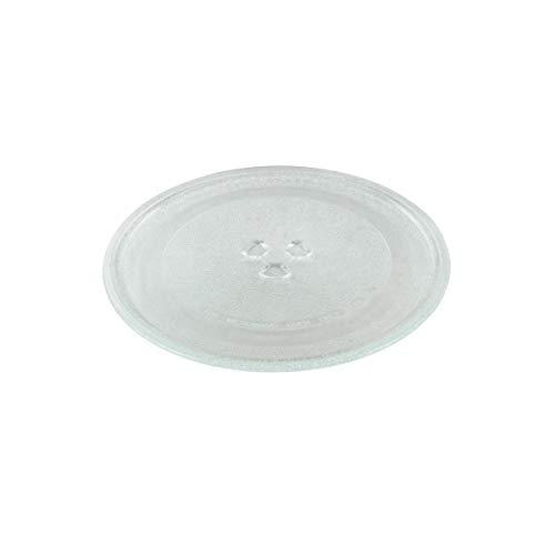 Paxanpax PSA001 Mikrowellen-Drehteller-Glasplatte mit 3 Befestigungselementen (245 mm)