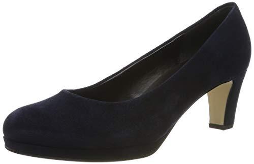 Gabor Shoes Damen Fashion Pumps, Blau (River 46), 38.5 EU