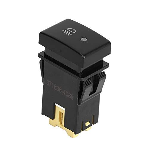 Qiilu Interruptor de luz antiniebla para automóvil de 5 pines, botón apto para Alto/A-Star/Celerio Ha12s Ha22s