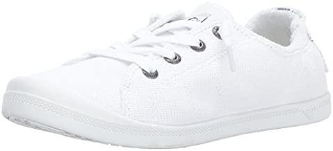 Roxy Women's Rory Slip On Sneaker, White, 8