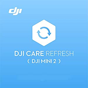 DJI Mini 2 Care Refresh (1 Year) - VIP service plan for DJI Mini 2, Up to Two Replacement within 12 Months, Fast Support, Crash and Water Damage Coverage, Activated within 48 Hours from DJI