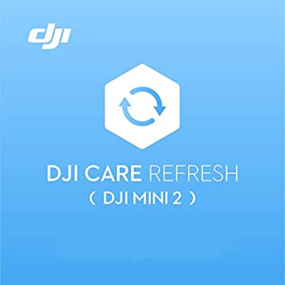DJI Mini 2 Care Refresh (1 Year) - VIP service plan for DJI Mini 2, Up to Two Replacement within 12 Months, Fast Support, Crash and Water Damage Coverage, Activated within 48 Hours